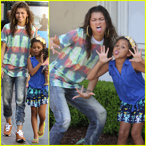 Zendaya Makes a Little Girl's Wish Come True!