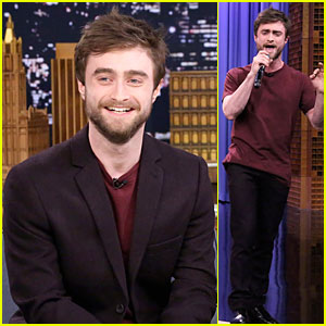 Daniel Radcliffe Shows Off Impressive Rap Skills on 'Tonight Show' - Watch Now!
