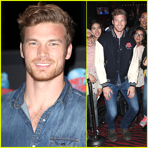 Derek Theler Celebrates 28th Birthday With Fans In New York City