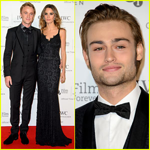 Tom Felton & Jade Olivia Make it a Date Night at IWC Gala!