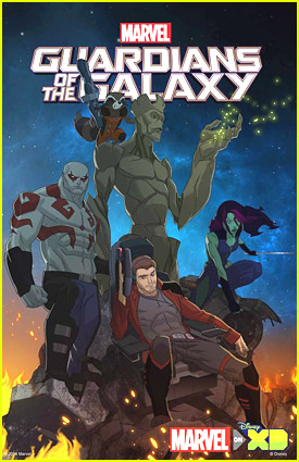 Marvel's Guardians Of The Galaxy Animated Series Coming To Disney XD!