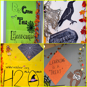 Disney Channel Stars Get Into Halloween Spirit - See Their Decorated Doors!