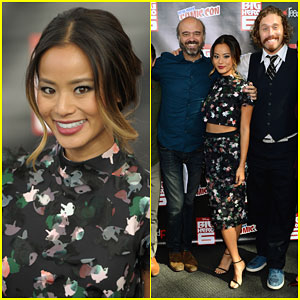 Jamie Chung & the 'Big Hero 6' Cast Make Their Way to New York City!