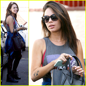 Janel Parrish Really Has The Best Parents - They Cleaned Her House For Her!