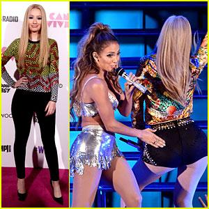Iggy Azalea Surprises the We Can Survive Crowd with Special Guest Jennifer Lopez!
