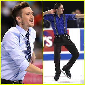 Olympian Skaters Jeremy Abbott & Jason Brown Sit 2nd, 3rd After Short Program at Skate America 2014