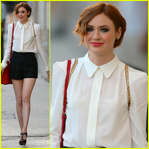 Karen Gillan Learned to Fish After Moving to America!