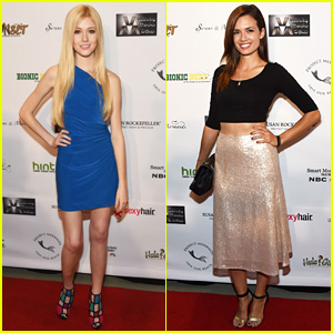Katherine McNamara & Torrey DeVitto are Pretty Ladies at Project Mermaid!