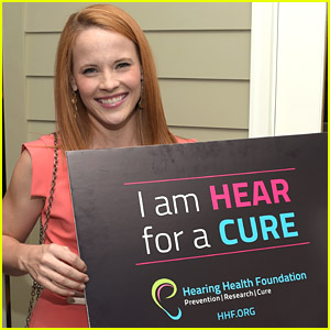 Katie Leclerc Raises Awareness at Hearing Health Foundation Gala 2014
