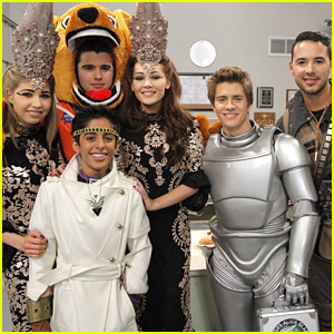 Jessie's Karan Brar & Dodgers' Andre Ethier Guest Star on 'Lab Rats' Tonight! (Exclusive Video)