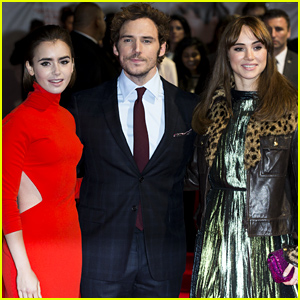 Lily Collins & Sam Claflin Premiere 'Love, Rosie' with Their Co-Stars!