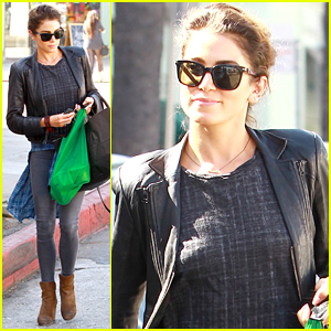 Nikki Reed Shops It Up In Studio City