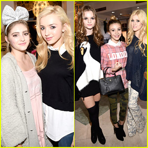 Peyton List & G Hannelius Party It Up With Wildfox