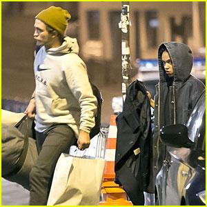 Robert Pattinson & FKA twigs Shop Till They Drop in Paris
