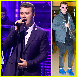 Sam Smith Puts His Heart on His Sleeve For 'Tonight Show' Performance