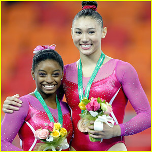 Fierce Five Olympian Kyla Ross & Simone Biles Dominate Artistic Gymnastics World Championships in China