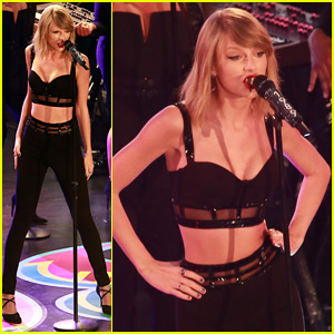 Taylor Swift Sings 'Out of the Woods' Live for First Time on 'Jimmy Kimmel Live' - Watch Now!