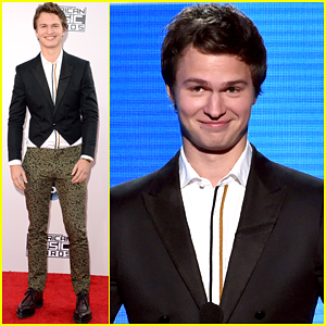 Ansel Elgort Channels His Inner Colonial Person at American Music Awards 2014