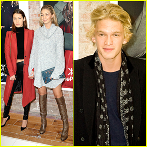 Cody Simpson Runs Into Ex-Girlfriend Gigi Hadid at OnePiece Pop Up Shop Opening