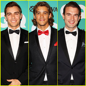 Dave Franco & Brenton Thwaites Are Dapper Fellas at GQ's Men Of The Year Awards 2014