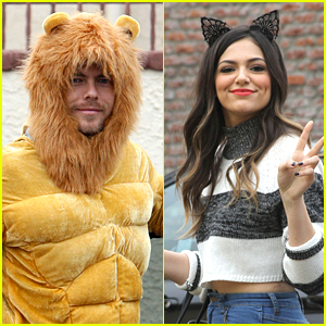 Derek Hough Roars Into 'Dancing With The Stars' Practice with Bethany Mota