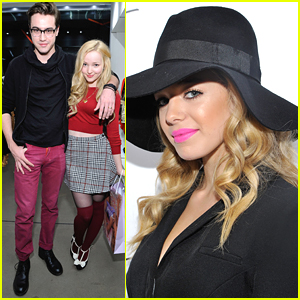 Jennette McCurdy & Dove Cameron Buddy Up at Art of Elysium ...