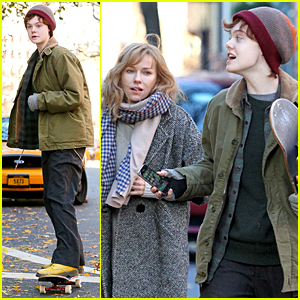 Elle Fanning Showcases Skateboarding Skills For 'Three Generations'