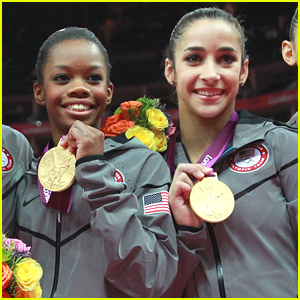 Fierce Five Gymnasts Gabby Douglas & Aly Raisman Return To U.S. Team