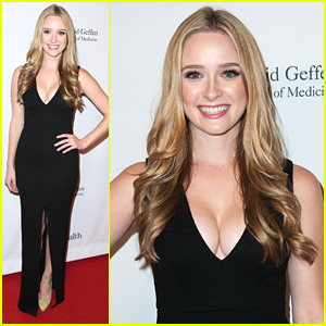 Greer Grammer Supports Dad Kelsey at UCLA's Visionary Ball ...
