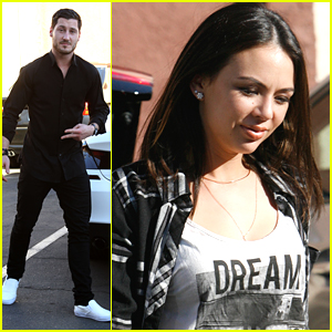 Janel Parrish Just Wrapped PLL Season 5 & Is Back At DWTS Practice