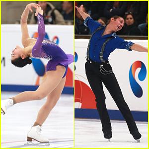 Mirai Nagasu & Jason Brown Grab 4th & 5th Places At Rostelecom Cup 2014