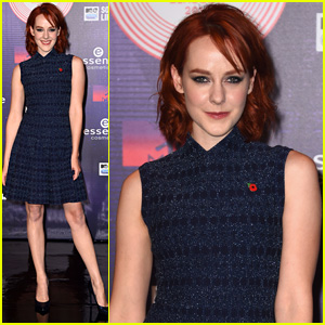 Jena Malone Attends the MTV EMAs 2014 After New 'Mockingjay' Clip Drops