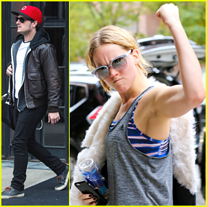 Jennifer Lawrence Whips Out Her Muscles After Gym Stop in NYC