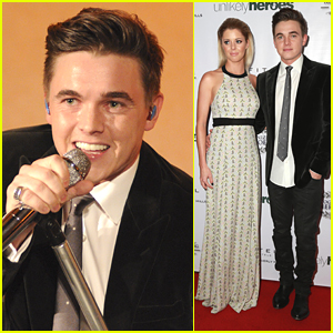 Jesse McCartney Performs For The Unlikely Heroes At Gala Event