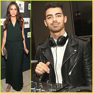 Joe Jonas DJs At Colaborator.com Launch Party with Olivia Culpo
