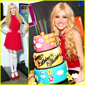 Katherine McNamara Celebrates 19th Birthday With 90s Nintendo Bash!