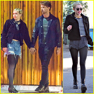 Miley Cyrus Has a Date Night with Patrick Schwarzenegger!