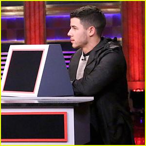Nick Jonas Plays Pyramid With Usher on 'Tonight Show' - Watch Now!