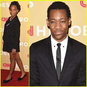 Tyler James Williams & Quvenzhane Wallis Honor Amazing Heroes With CNN