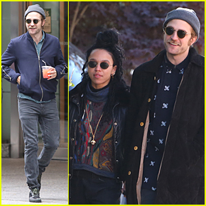 Robert Pattinson & FKA twigs Enjoy Lunch Date Before 'Idol's Eye' Gets Shut Down