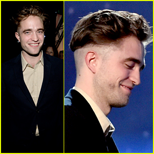 Robert Pattinson Puts His New Hairstyle on Display at Hollywood Film Awards 2014!