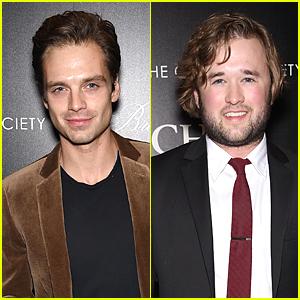 Sebastian Stan & Haley Joel Osment Bring Man Power to 'Foxcatcher' Screening