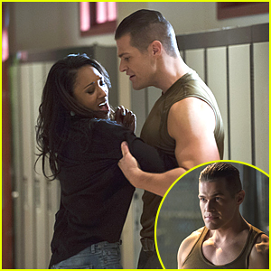 Greg Finley Gets Rough With Iris On 'The Flash' & Our Superhero Isn't Having Any Of That