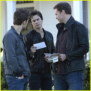 Elena & Caroline Prepare For Thanksgiving With Friends On 'Vampire Diaries' Tonight