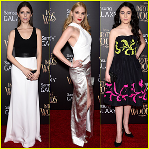 Anna Kendrick, MacKenzie Mauzy, & Lilla Crawford Premiere 'Into the Woods' in NYC!