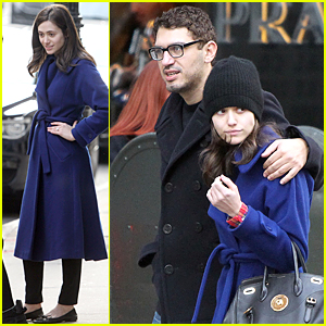 Emmy Rossum & Boyfriend Sam Esmail Are Not Engaged
