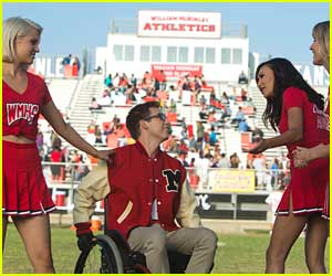 Rachel, Puck, Quinn & More Return To Lima In New 'Glee' Season Six Premiere Pics