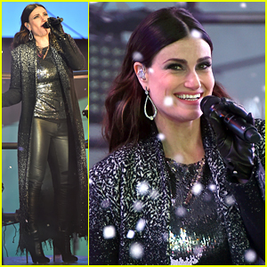 Frozen's Idina Menzel Belts Out 'Let It Go' for New Year's Eve 2015 - WATCH NOW!