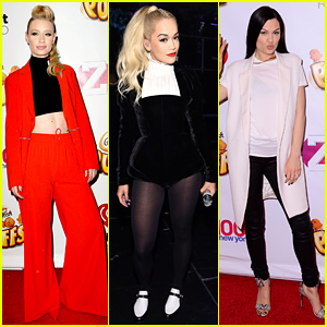 Iggy Azalea & Rita Ora Are Black Widows at Z100 Jingle Ball