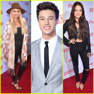 Kelli Berglund & Alli Simpson Support Cameron Dallas At 'Expelled' Premiere